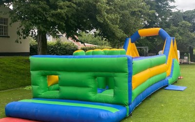 11 x 40ft obstacle course