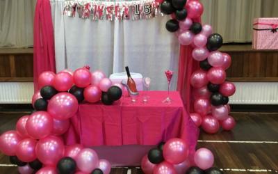 Party decor and balloon decor