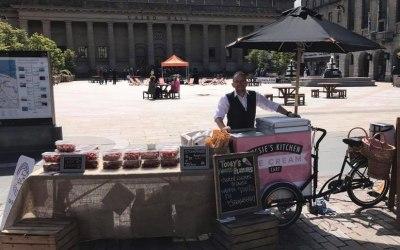 Jessie S Kitchen Catering Company Ltd Ice Cream Cart