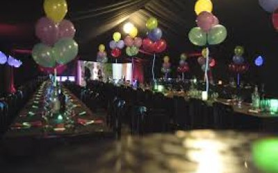 Balloons and decor