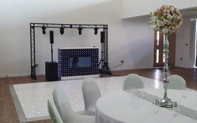 Wedding in South Ockendon with Starlit Dancefloor