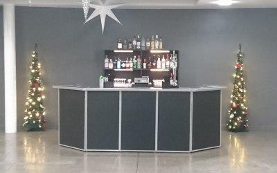 Black festive bar