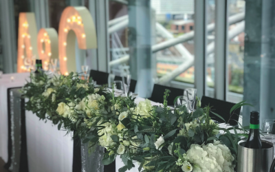 Top Table Flowers at Baltic