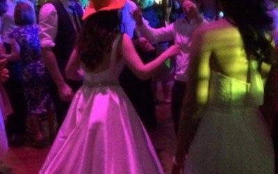 Bride with cone on head