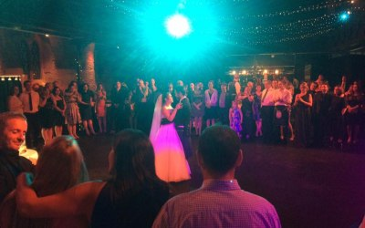 First dance in cottiers