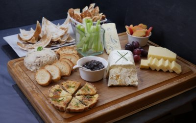 A Savoury Cheeseboard