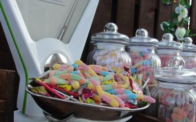 Sweet Shop Candy Cart