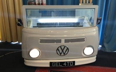 Retro VW Camper Van freezer
