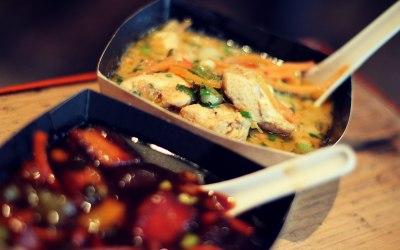 Thai Chicken Curry & Cantonese Belly Pork