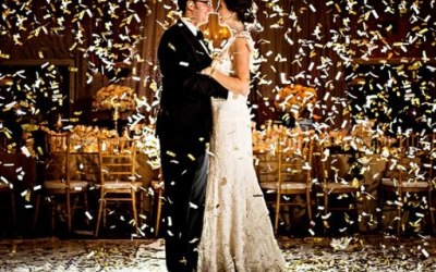 First Dance Confetti Shower