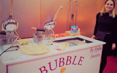 Bubble Waffle Cart