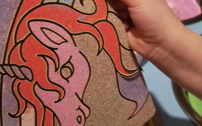 Artisand-Sand Art with Vicki 2