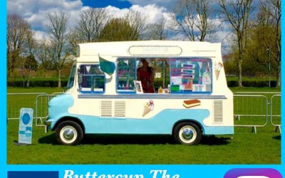 Buttercup Vintage Ice Cream Van 6