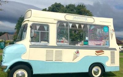 Buttercup Vintage Ice Cream Van 3