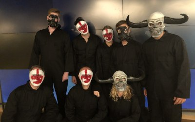 Scrare Squad for the UK Premiere of The Purge