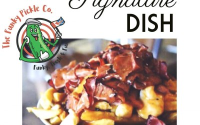 Poutine with Montreal smoked meat.