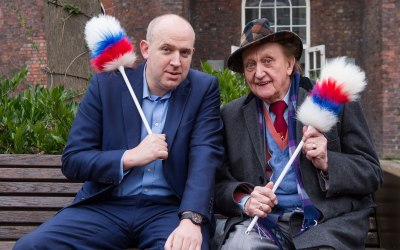 Ken Dodd and Tim Vine