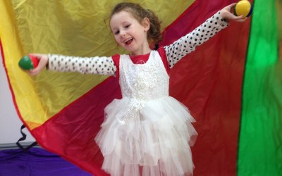 Circus workshops for all ages!