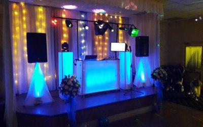 new wedding set up