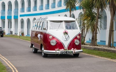 VW Bus At The Riviera Hotel