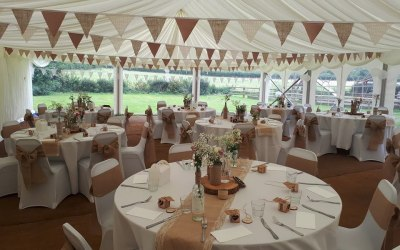 Venue Styling At The Springhead Inn