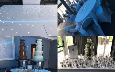 Wedding party at Formby Hall