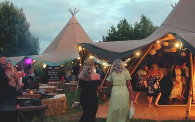 The Secret Bars - Tipi Wedding