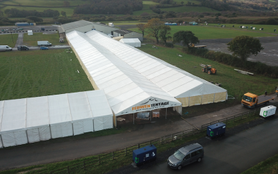 Large Marquees for all types of events.