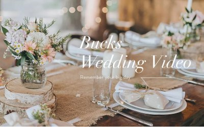 Bucks Wedding Video 1