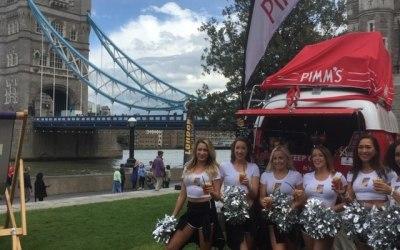 London Beach Rugby on Tower Bridge