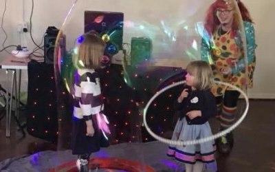 Inside a rainbow bubble