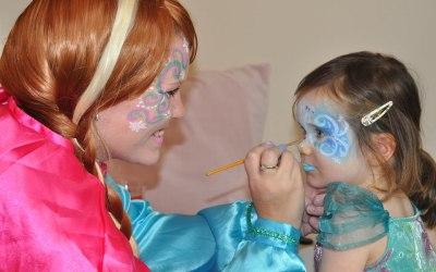 Frozen Anna & Facepainting