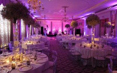 Wedding room at Claridge's London