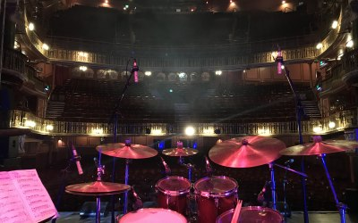 Working in some of the best theatres in the UK