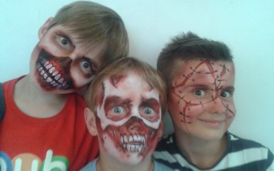 Face Painting Boys Party faces