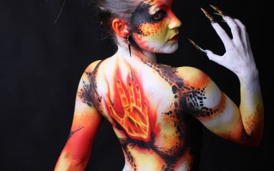 Brushstrokes Face Painting and Body Art 1