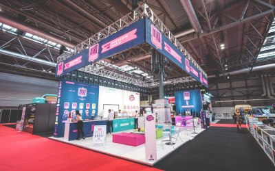 LED Screen and Sound at NEC for VAPE Show