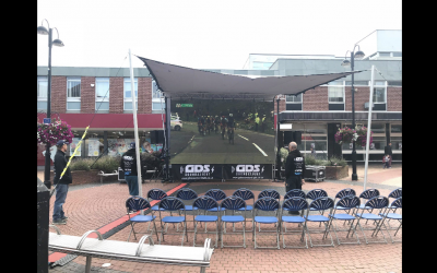 OVO Energy Cycle Tour of Britain, Screen Hire
