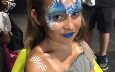 Childrens face painting for parties