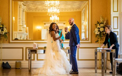 Ayoola and James @ Holmewood Hall