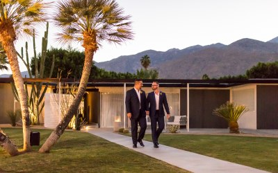 Bart and Steve @ L'Horizon, Palm Springs