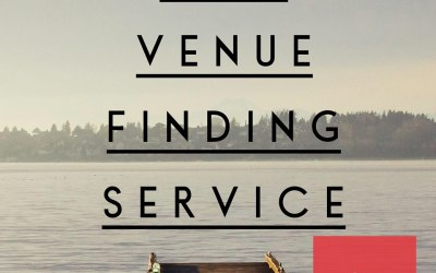 We offer FREE venue finding