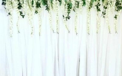 Flower Drape Wall