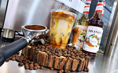 Our to Iced Coffee's with a variety of flavour options