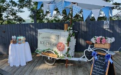 A typical wedding set up