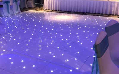 20x20 Foot Dance Floor, Dalziel Park Hotel