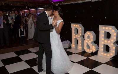 Any initials for a wedding