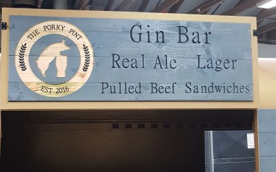 The Porky Pint Gin Cart 3