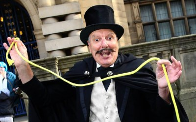 The Great Mysto - Strolling Victorian Magician