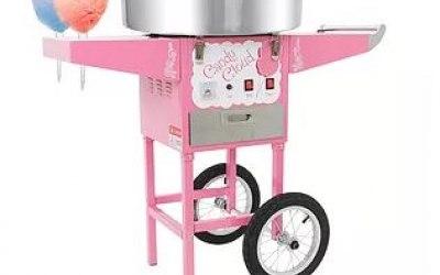 Candy-floss machine